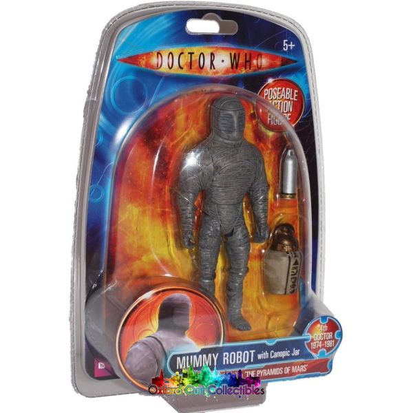 Classic Doctor Who Mummy Robot Action Figure