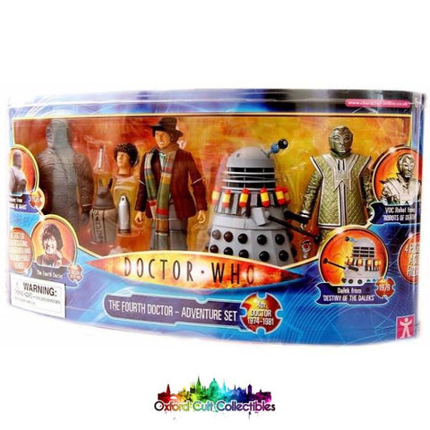 Classic Doctor Who The Fourth Adventure Set