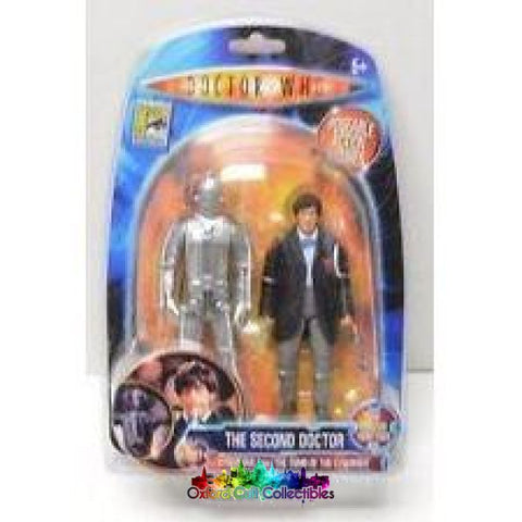 Classic Doctor Who The Second With Cyberman Action Figures