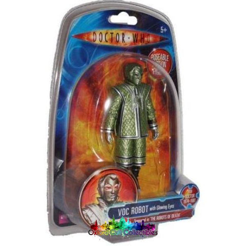 Classic Doctor Who Voc Robot Action Figure