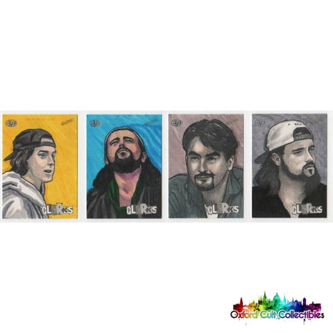 Clerks Artist Proof Sketch Card Set By Darwin Alcazar