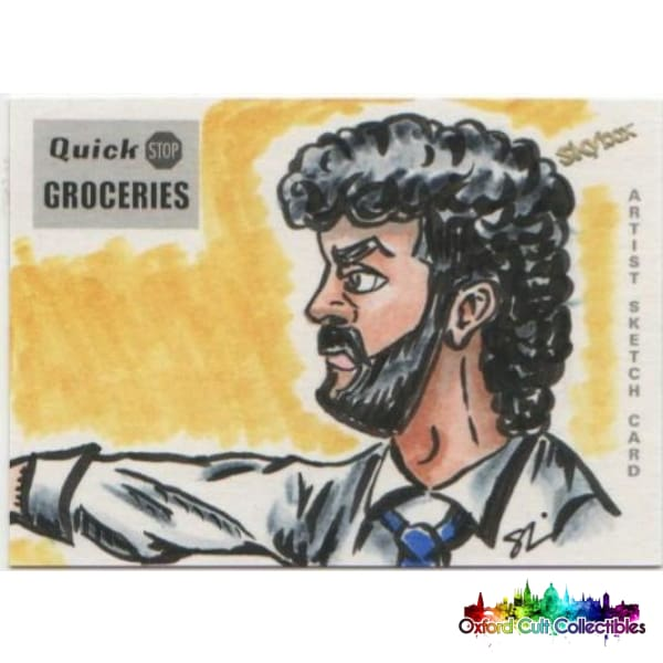 Clerks Artist Sketch Card Set By Anthony Skubis