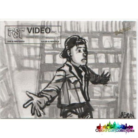 Clerks Artist Sketch Card Set By Jason Keith Phillips