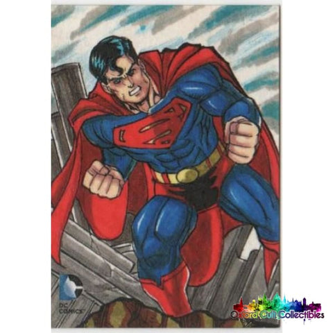 Dc 52 Artist Proof Sketch Card