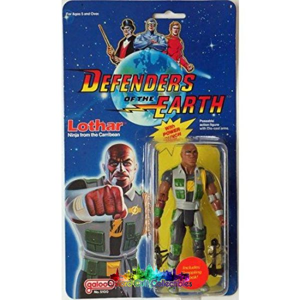 Defenders Of The Earth Lothar Action Figure