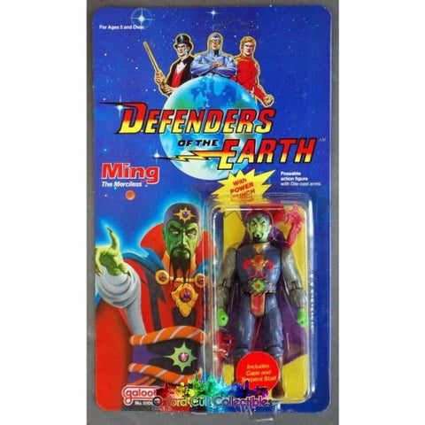 Defenders Of The Earth Ming The Merciless Action Figure