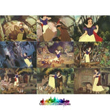Disneys Snow White And The Seven Dwarfs Trading Card Sticker Set