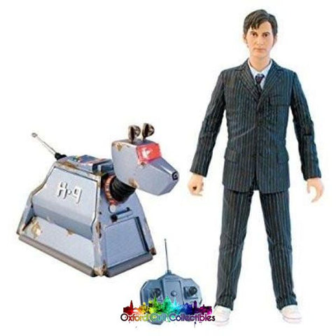 Doctor Who 10Th And Rc K-9 Action Figure Set