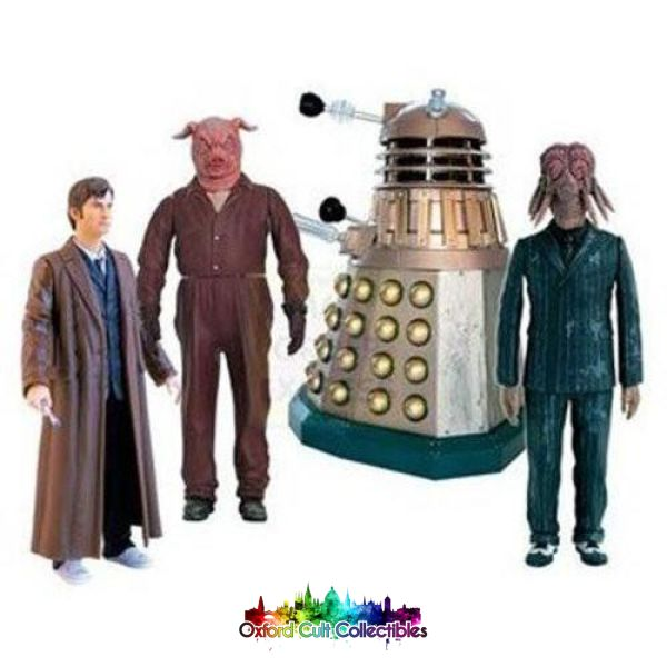 Doctor Who Daleks In Manhattan Action Figure Set