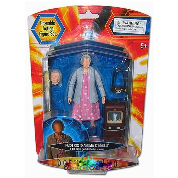 Doctor Who Faceless Grandma Connolly & The Wire Action Figure