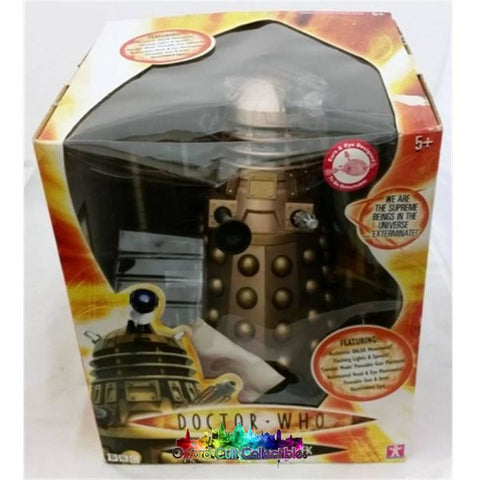 Doctor Who Radio Controlled Gold 12 Dalek