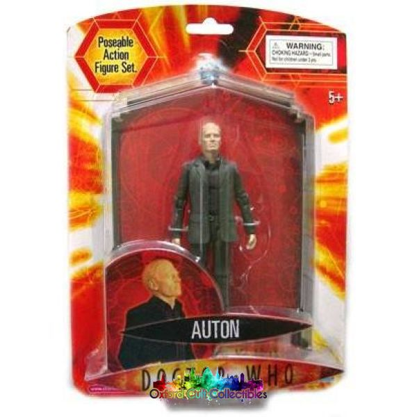 Doctor Who Series 1 Auton (Grey Variant) Action Figure