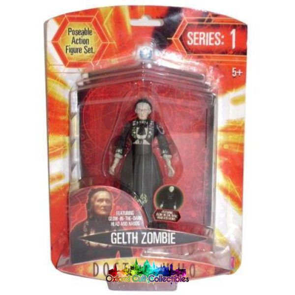 Doctor Who Series 1 Gelth Zombie Featuring Glow In The Dark Head And Hands Exclusive Action Figure
