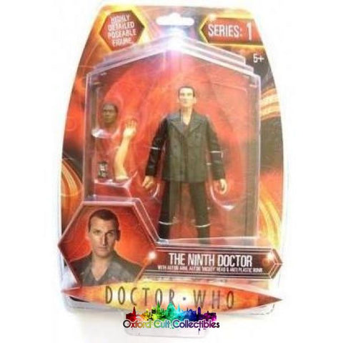 Doctor Who Series 1 The Ninth With Auton Arm Mickey Head And Anti Plastic Bomb Action Figure