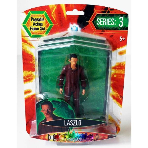 Doctor Who Series 3 Laszlo Action Figure