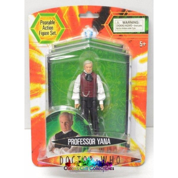 Doctor Who Series 3 Professor Yana Action Figure