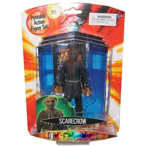 Doctor Who Series 3 Scarecrow Dark Brown Tie Variant Action Figure