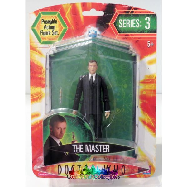 Doctor Who Series 3 The Master Action Figure