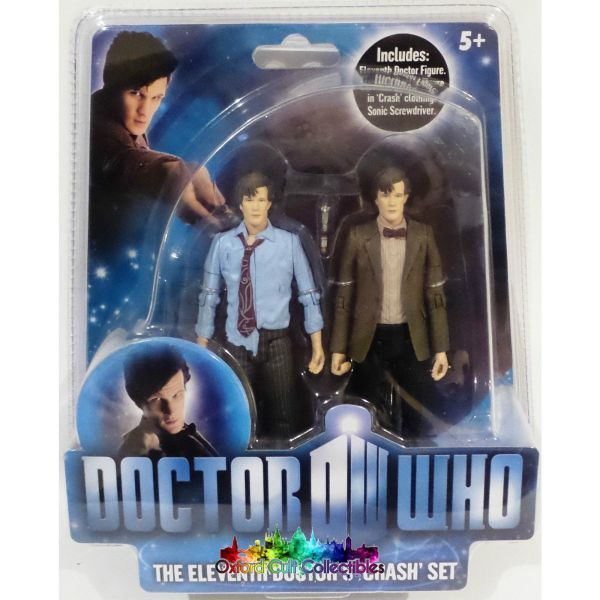 Doctor Who The Eleventh Doctors Crash Action Figure Set