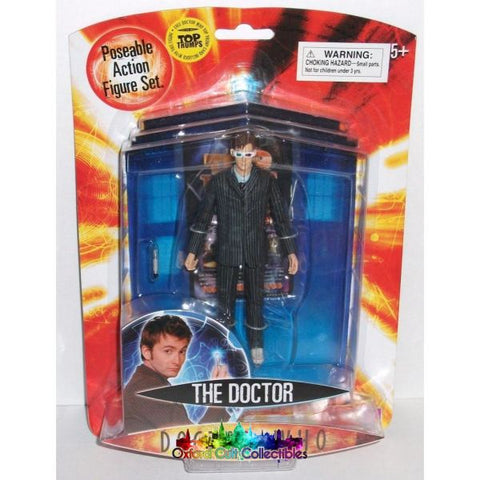 Doctor Who The Tenth With 3D Glasses Action Figure