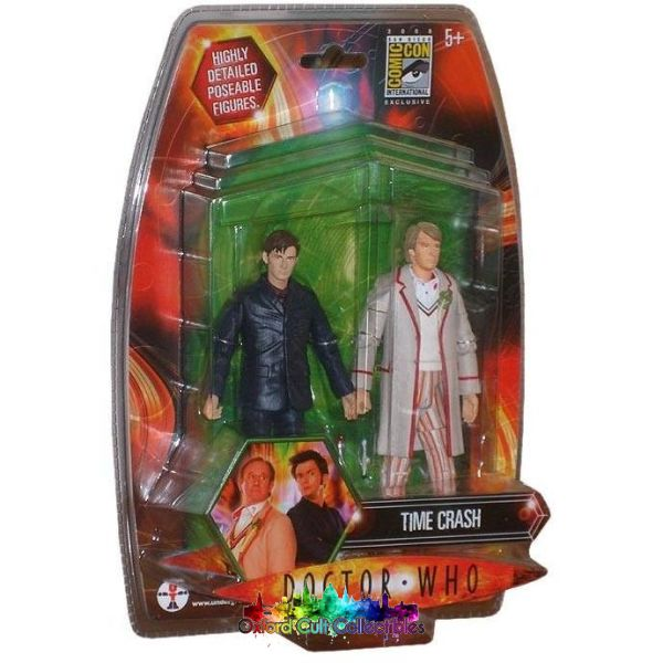 Doctor Who Time Crash Exclusive Action Figure Set