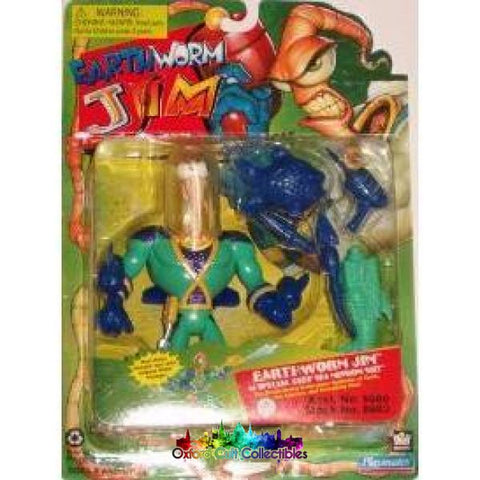 Earthworm Jim In Special Deep Sea Mission Suit Action Figure