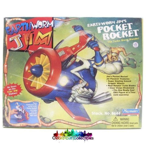 Earthworm Jim Pocket Rocket