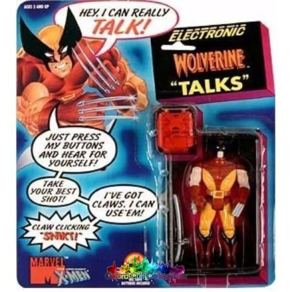 Electronic Talking Wolverine Action Figure