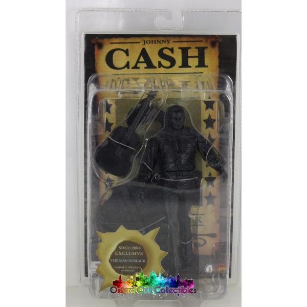 Exclusive Johnny Cash - The Man In Black Limited Edition Action Figure
