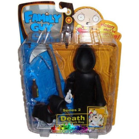 Family Guy Death And Dog Action Figures