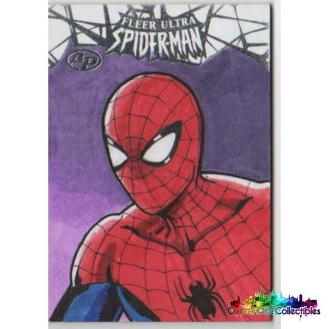 Fleer Ultra Spider-Man Spiderman Artist Proof Sketch Card