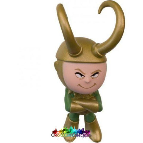 Funko Marvel Vinyl Bobble-Head Loki Mystery Mini Figurine