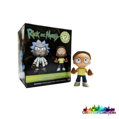 Funko Rick And Morty Morty With Mega Seeds Mystery Mini Figurine