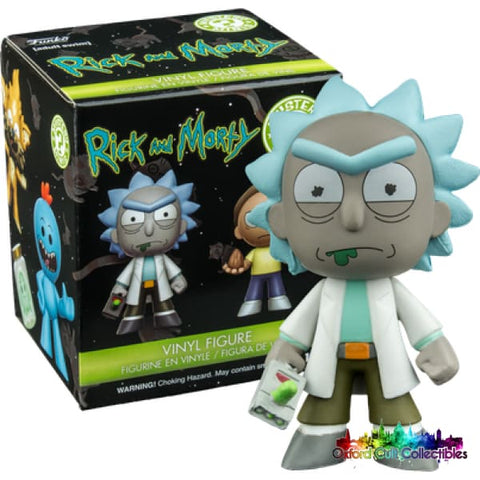 Funko Rick And Morty Rick With Portal Gun Mystery Mini Figurine