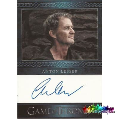 Game Of Thrones Anton Lesser As Qyburn Autograph Card