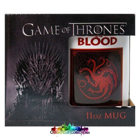 Game Of Thrones Fire And Blood Targaryen Mug