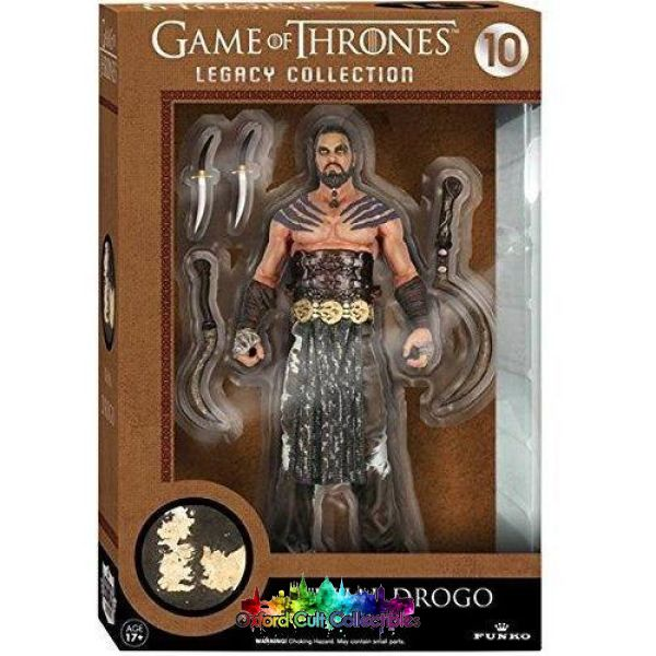Game Of Thrones Khal Drogo (10) Legacy Collection Action Figure