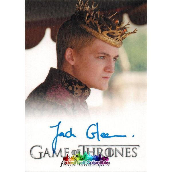 Game Of Thrones King Joffrey Baratheon Authentic Autograph Card