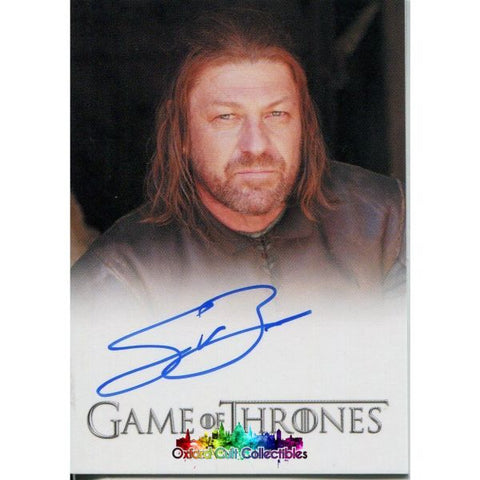 Game Of Thrones Lord Eddard Ned Stark Authentic Autograph Card