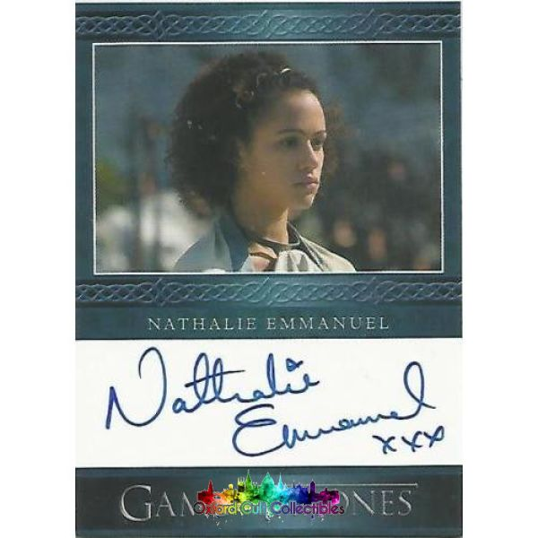 Game Of Thrones Missandei Authentic Autograph Card