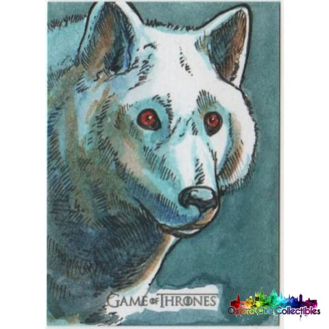 Game Of Thrones Season 7 Artist Proof Sketch Card