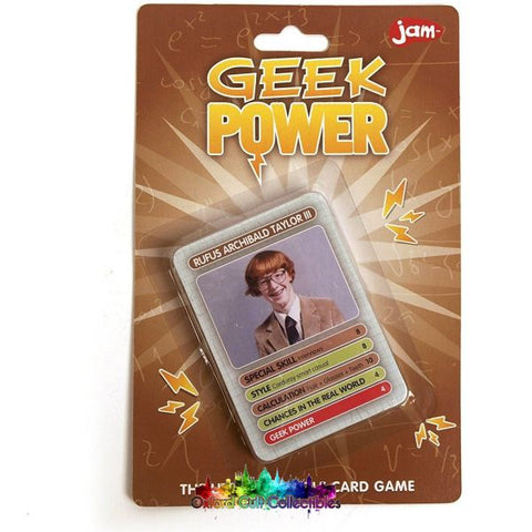 Geek Power Ultimate Battle Card Game