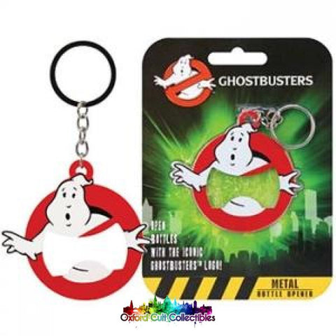 Ghostbusters Metal Keyring Bottle Opener