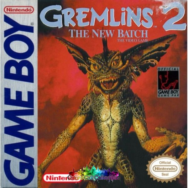 Gremlins 2 The New Batch Gameboy Game