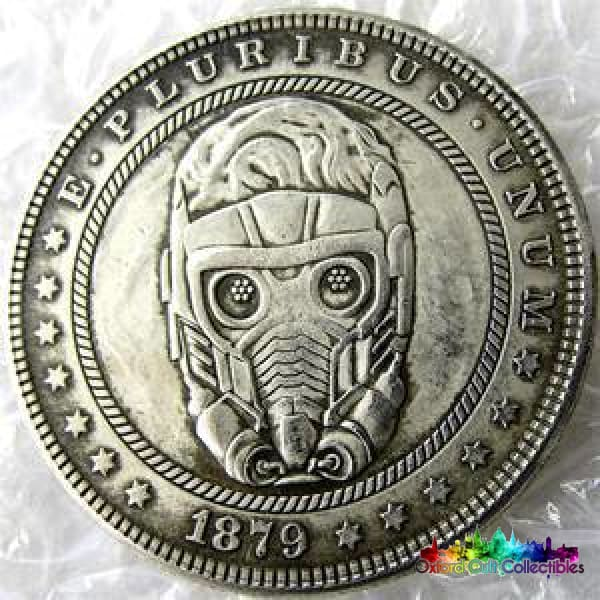 Guardians Of The Galaxy Vintage Style One Dollar Collectible Coin