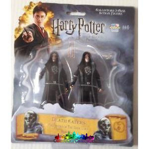 Harry Potter And The Half Blood Prince Death Eaters Action Figure Set