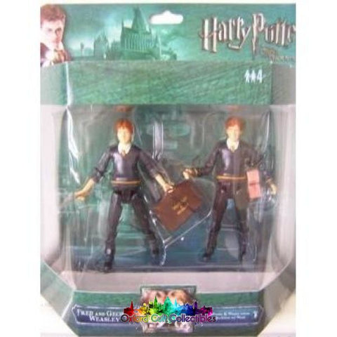 Harry Potter And The Order Of Phoenix Deluxe Fred & George Weasley Twins Action Figure Set