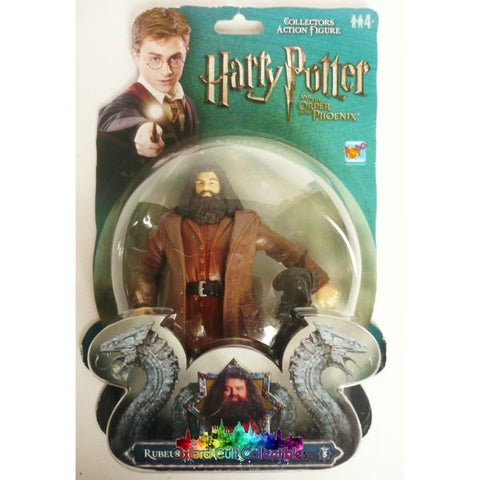 Harry Potter And The Order Of Phoenix Rubeus Hagrid Fang Dog Action Figure