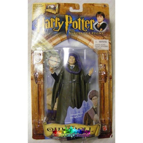 Harry Potter And The Philosophers Stone Professor Quirrell Action Figure