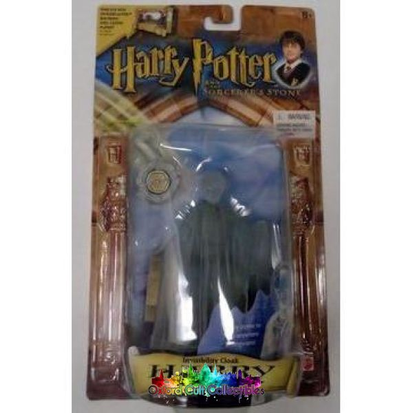Harry Potter And The Sorcerers Stone Invisibility Cloak Action Figure